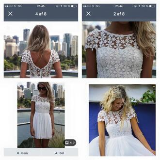 dress pretty little liars white dress white short