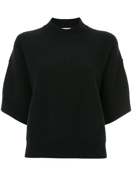 Ck Calvin Klein top women soft black