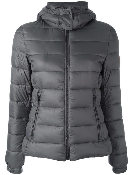 Save The Duck jacket women grey
