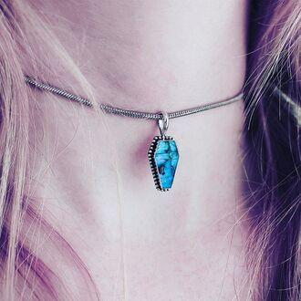 jewels shop dixi goth labradorite choker necklace boho choker grunge