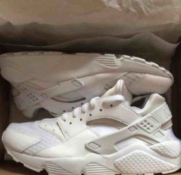 shoes huarache white sneakers nike