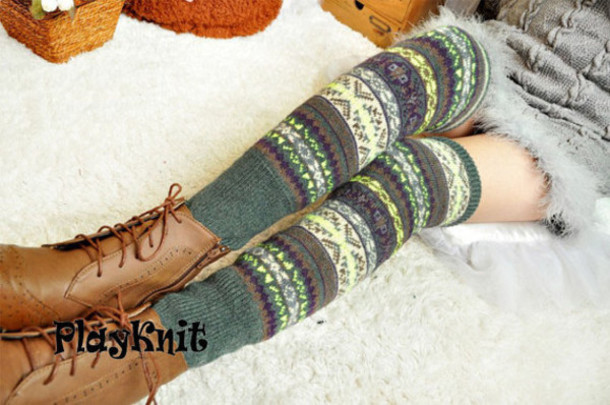 socks leg warmers