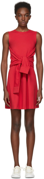 Dsquared2 dress jersey dress red
