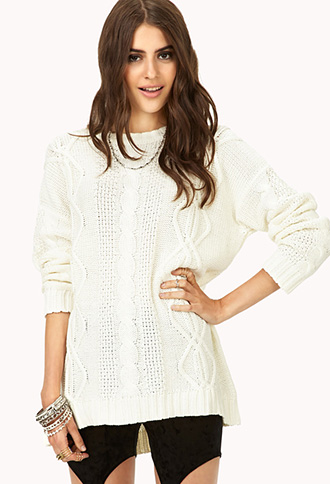 Laid Back Braided Sweater | FOREVER21 - 2000052092