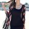 Rose fringe kimono | shop civilized