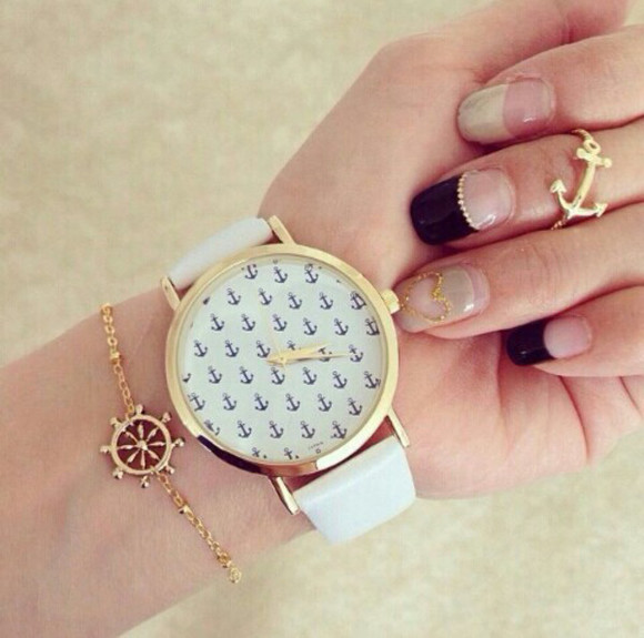 jewels watch anchor