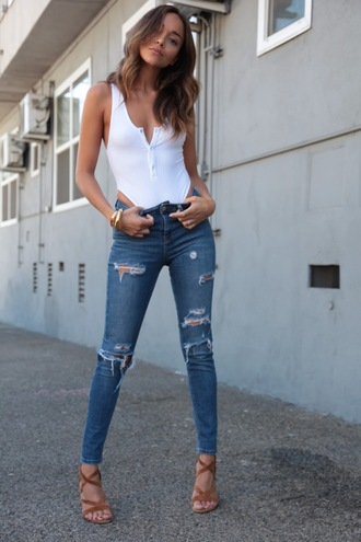 ring my bell blogger jeans shoes jewels