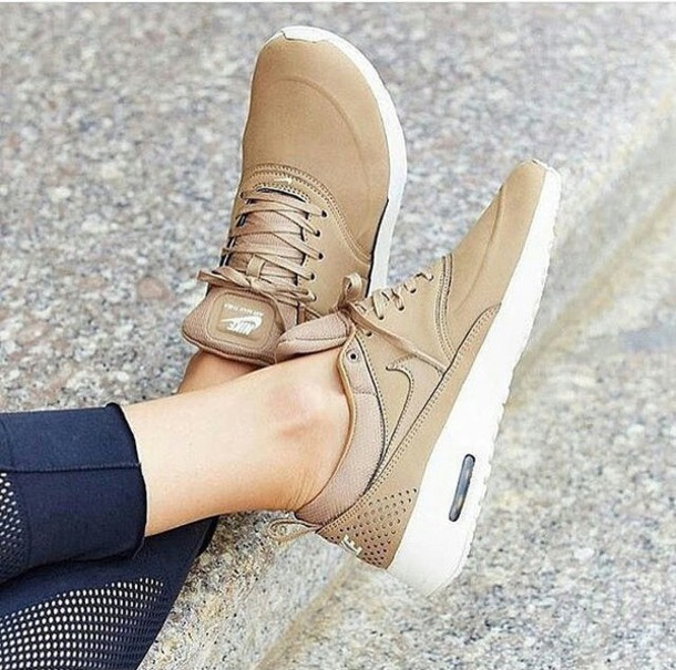 53f63b0833 shoes tenis nike beige nude sneakers nike sneakers low top sneakers beige  shoe nike air max