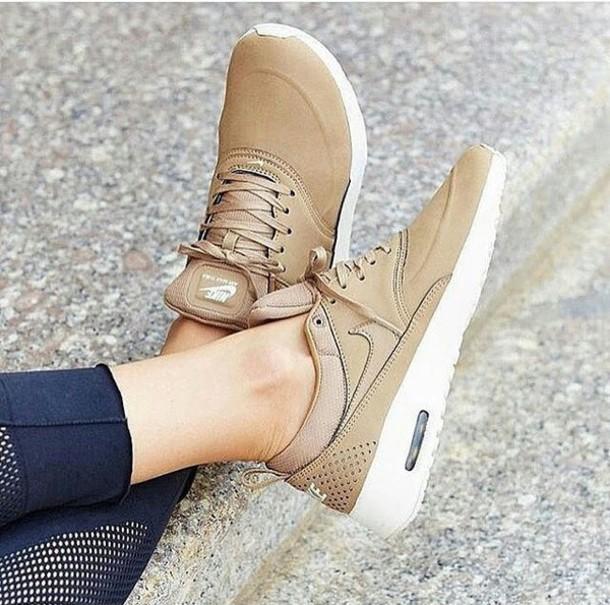 1f73f1589f shoes tenis nike beige nude sneakers nike sneakers low top sneakers beige  shoe nike air max