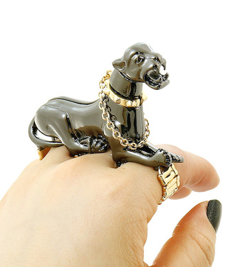 jewels panther panthere 3d ring animal