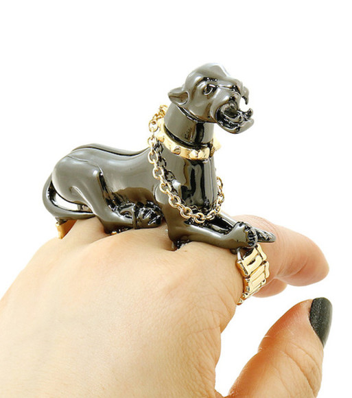 panther jewels panthere 3d ring animal