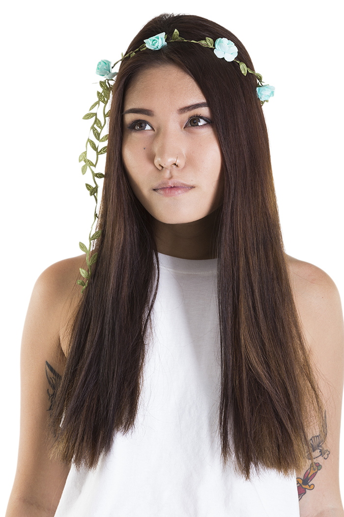 Floral Crowns : Blue Flower Crown