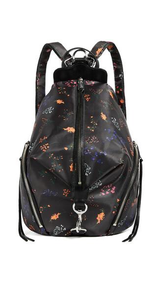 backpack floral bag