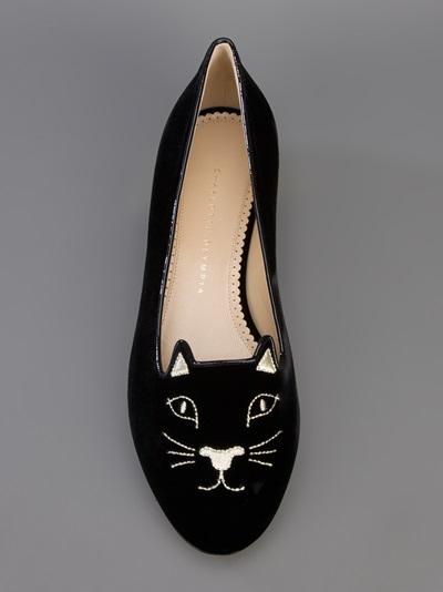 Charlotte olympia 'kitty' slipper