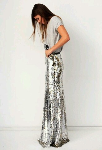 skirt sequins sequin skirt