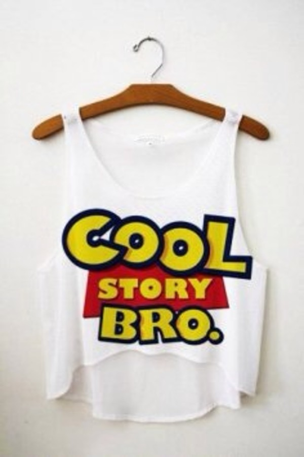 tank top top shirt toy story crop tops