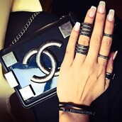 jewels,ring,black stone,bag