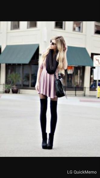 dress black flowy loose dress baggy dress