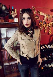 Ladies Tan Leather Jacket | eBay