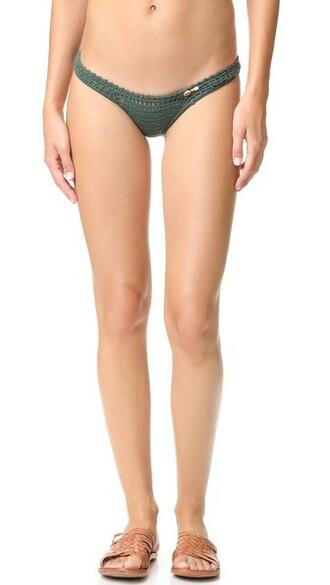 bikini bikini bottoms cheeky bikini cheeky crochet swimwear