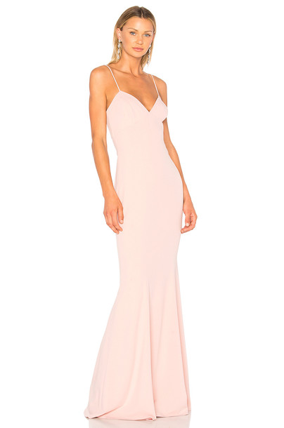 Katie May gown pink dress