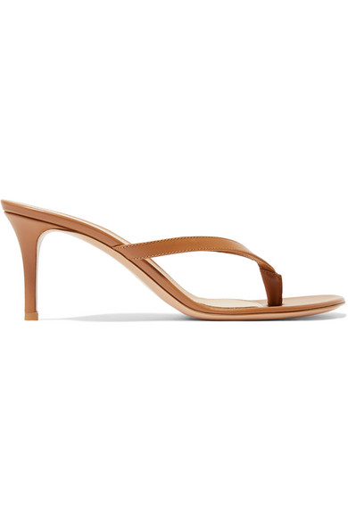 Gianvito Rossi - Calypso 70 leather sandals