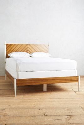 Geo-Marquetry Bed