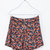 DOUBLE LAYER FLORAL SHORTS - Trousers - TRF | ZARA United States