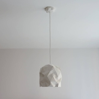 home accessory lamp white geometric