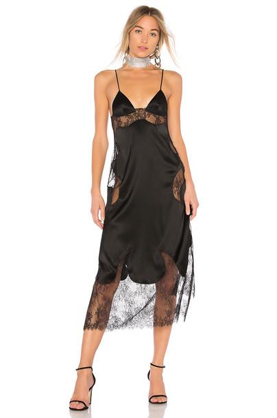 dress lingerie dress black