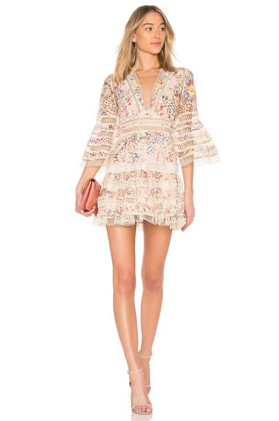 Zimmermann dress floral pink