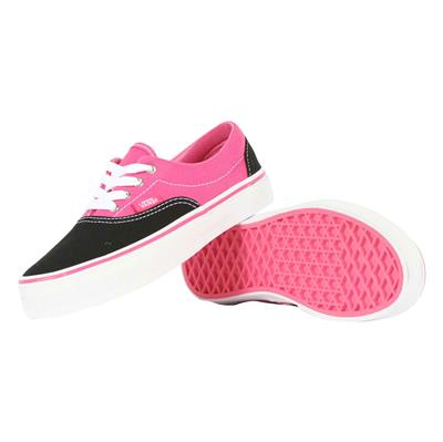 Vans - K Era Shoes In Black/Shocking Pink