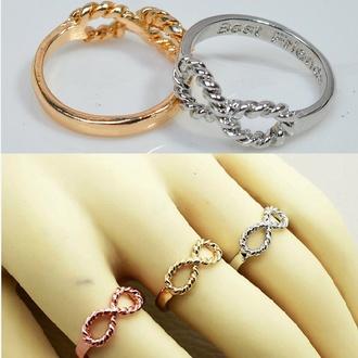 jewels best friends infinity ring