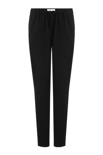 draped black pants