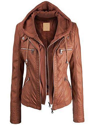 jacket outerwear brown brown jacket brown jacket with hood