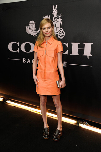 dress orange dress orange kate bosworth leather