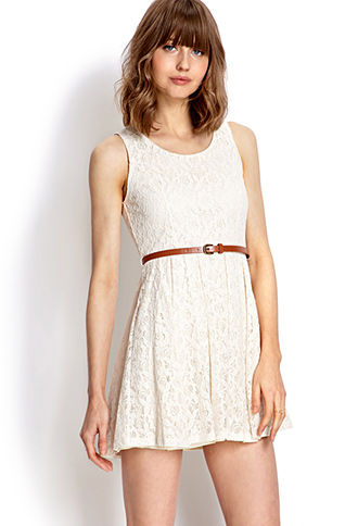 Rustic Lace Dress | FOREVER21 - 2000065005