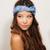 Teal/Turquoise Head Bands - Tie Headband Head wrap | UsTrendy