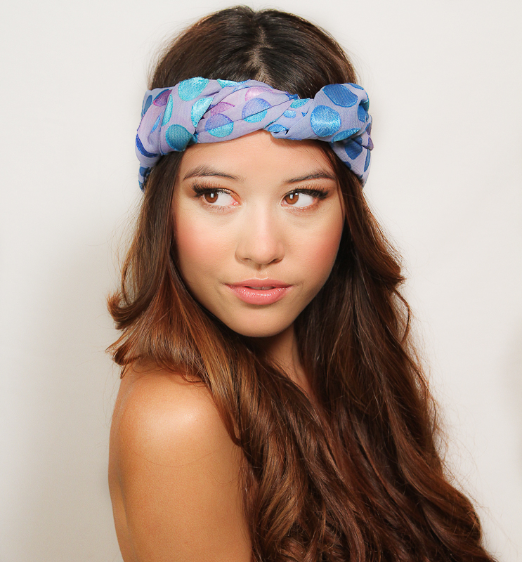 Teal/turquoise head bands