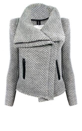 clothes jacket grey grey jacket