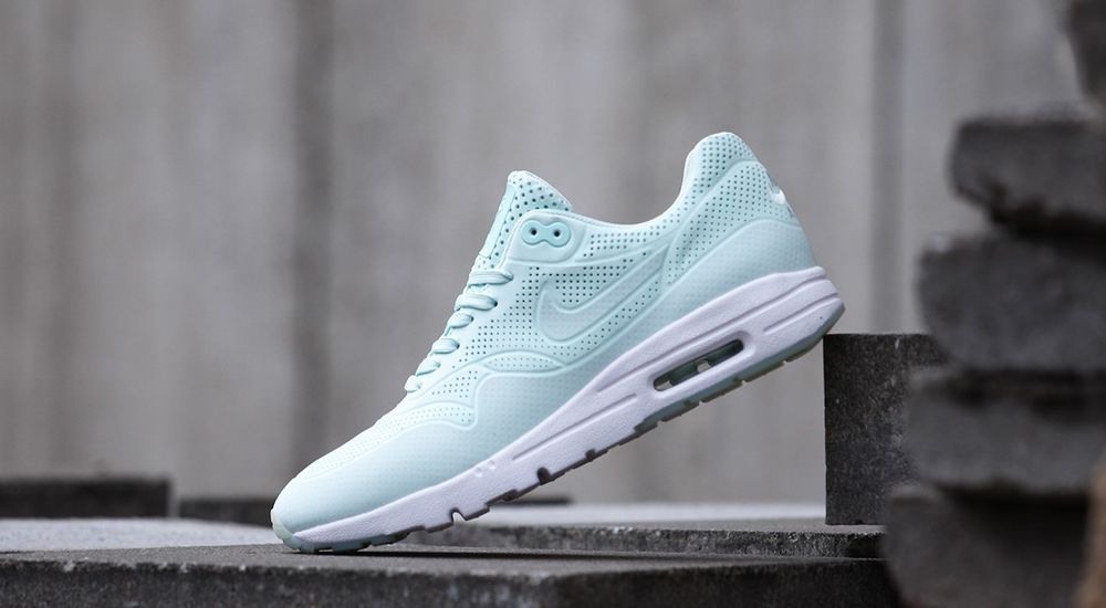 Womens Nike Air Max 1 Ultra Moire Mint Fiberglass White 90 95 OG Thea  704995 300