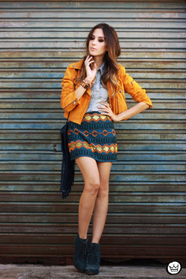 fashion coolture skirt jacket shirt bag shoes