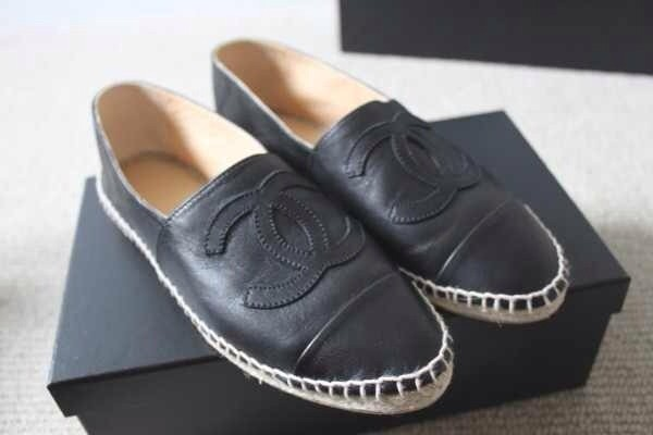 shoes chanel espadrilles