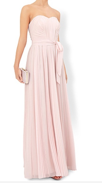 dress pink wedding bridesmaid pink dress