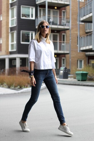 the fashion eaters blogger jeans unisex boyish white shirt skinny jeans