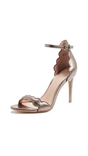 Rachel Zoe sandals gold shoes