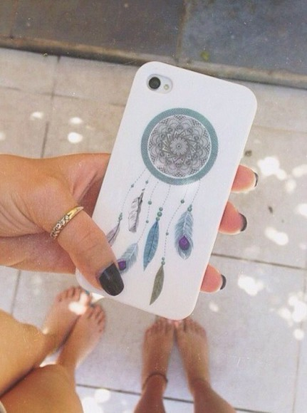 dream catcher bag iphone case