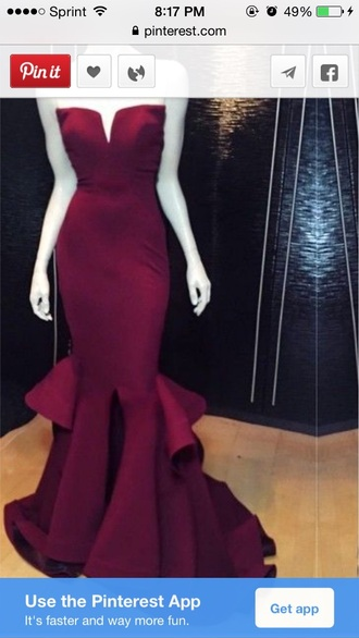 dress lost prom gown