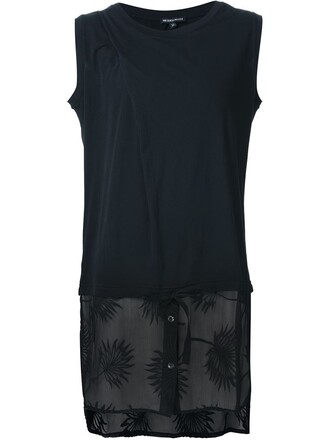 top embroidered sheer black