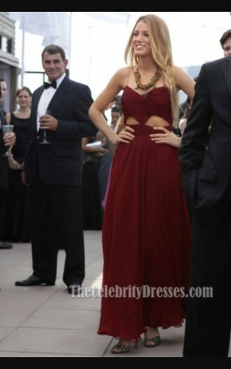 dress gossip girl blake lively blake lively dress gossip girl fashion party dress cocktail dress red dress cut out dress stunning maxi dress